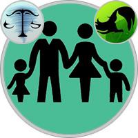 Jungfrau-Kind und Waage-Elternteil