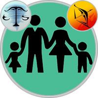 Schütze-Kind und Waage-Elternteil