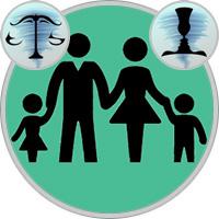 Zwillinge-Kind und Waage-Elternteil