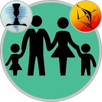 Schütze-Kind und Zwillinge-Elternteil