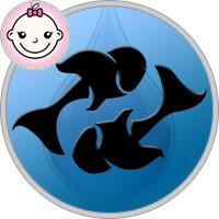 Fische Mädchen