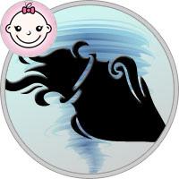 Wassermann Mädchen