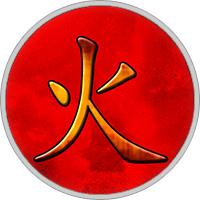 Chinesisches Element Feuer