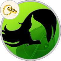 Jungfrau Frau in der Ehe