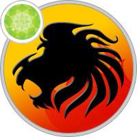 Edelsteine der Löwe