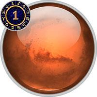 Mars im 1. Haus