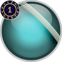 Uranus im 1. Haus