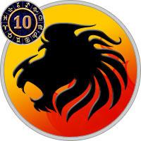 Das 10. Haus im Löwe