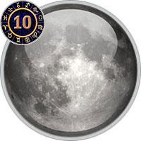 Mond im 10. Haus