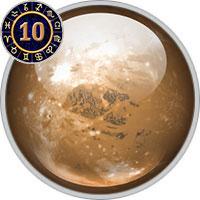 Pluto im 10. Haus