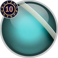 Uranus im 10. Haus