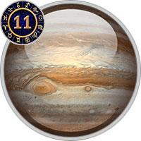 Jupiter im 11. Haus