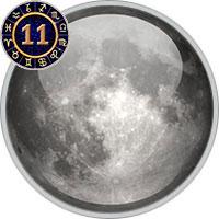 Mond im 11. Haus
