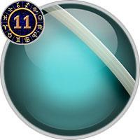 Uranus im 11. Haus