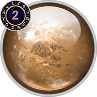 Pluto im 2. Haus
