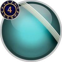 Uranus im 4. Haus