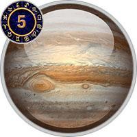 Jupiter im 5. Haus