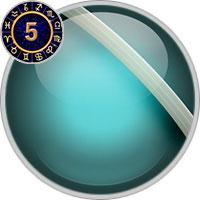 Uranus im 5. Haus