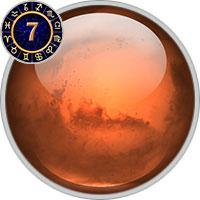 Mars im 7. Haus