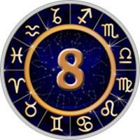 Achte Haus des Astrologie