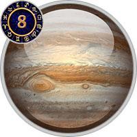 Jupiter im 8. Haus