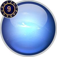 Neptun im 9. Haus