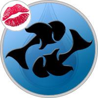 Fische Kuss