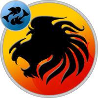 Löwe und Fische Partner