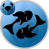 Fische und Krebs Partner