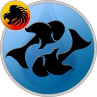 Fische und Löwe Partner