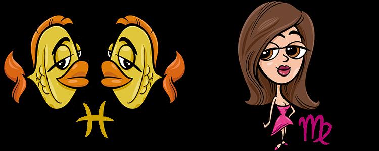 Fische und Jungfrau Partner Horoskop