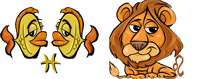 Fische und Löwe Partner Horoskop