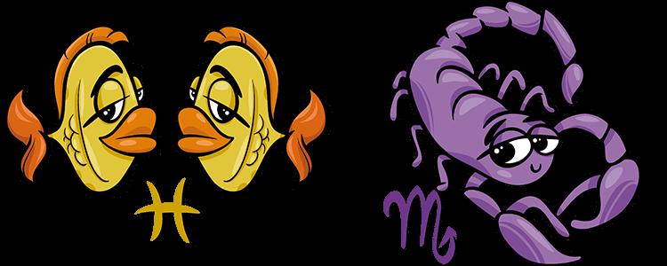 Fische und Skorpion Partner Horoskop