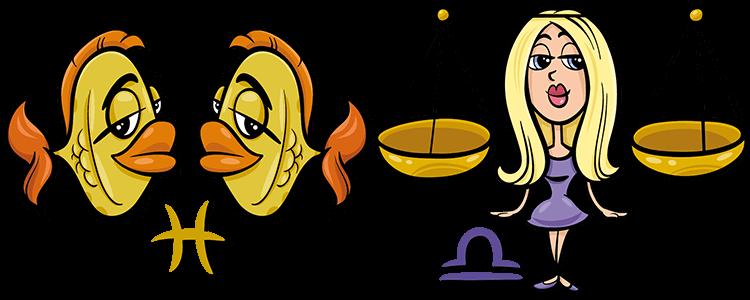Fische und Waage Partner Horoskop