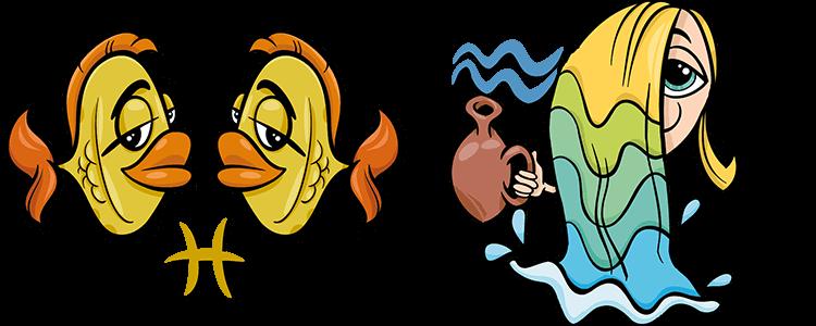 Fische und Wassermann Partner Horoskop