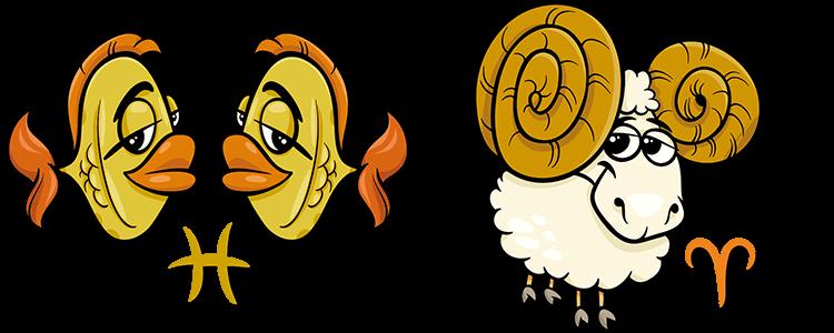 Fische und Widder Partner Horoskop