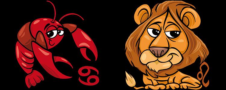 Krebs und Löwe Partner Horoskop