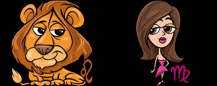 Löwe und Jungfrau Partner Horoskop