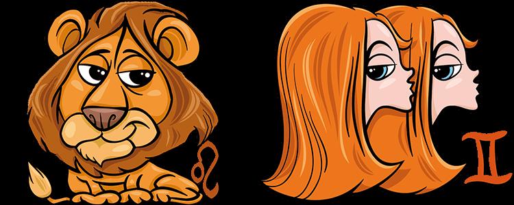 Löwe und Zwillinge Partner Horoskop