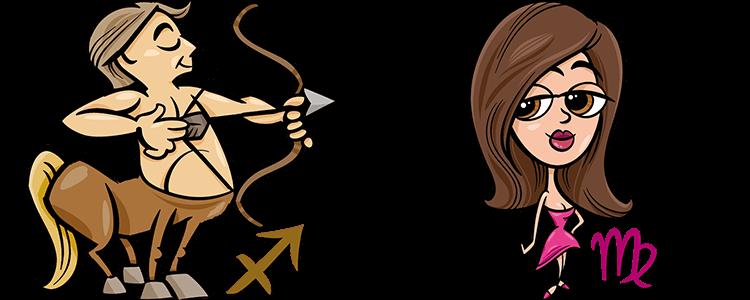 Schütze und Jungfrau Partner Horoskop