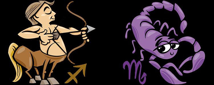 Schütze und Skorpion Partner Horoskop