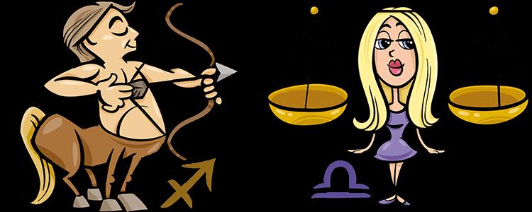 Schütze und Waage Partner Horoskop