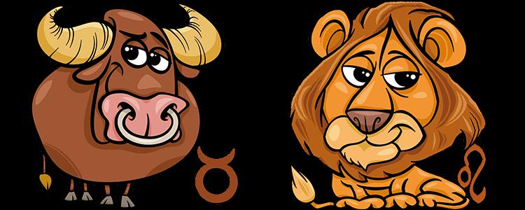 Zusammen löwe und stier frau passen mann Partnerhoroskop: Stier