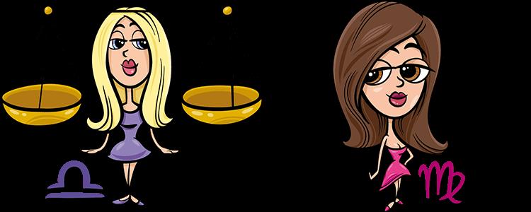Waage und Jungfrau Partner Horoskop