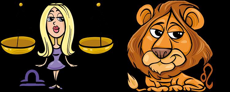 Waage und Löwe Partner Horoskop