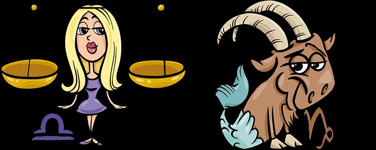 Waage und Steinbock Partner Horoskop