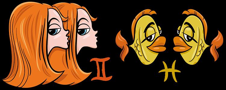 Zwillinge und Fische Partner Horoskop