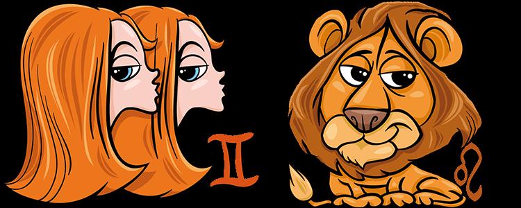 Zwillinge und Löwe Partner Horoskop