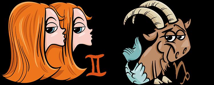 Zwillinge und Steinbock Partner Horoskop