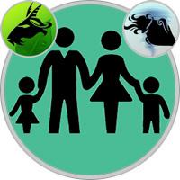 Aquarius Child  — Capricorn Parent